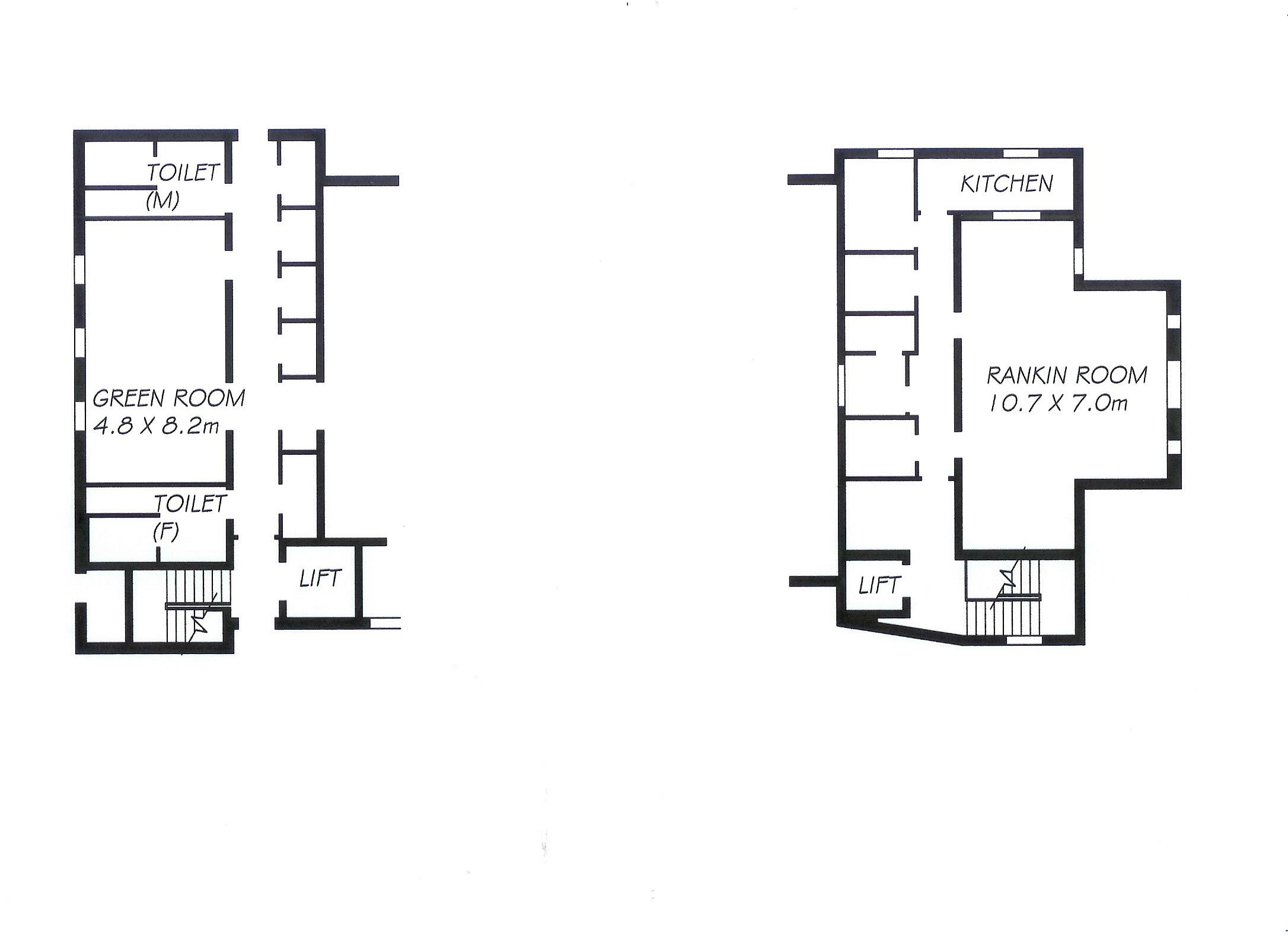the victory hall broughton in furness floor plan